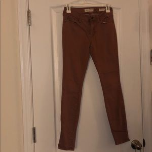 Burnt Sienna Bullhead Jeggings